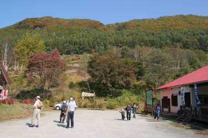 2008年10月18日宝台樹ハイキング会の自然花苑散策