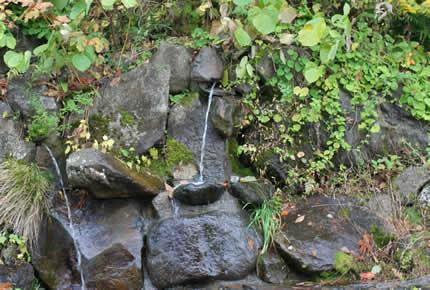 宝縁の泉(水飲み場)