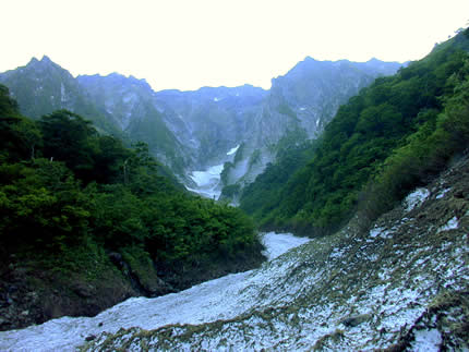 2001年6月谷川岳、一ノ倉沢
