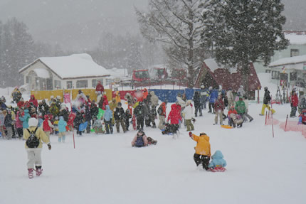 1月27日子供雪祭り