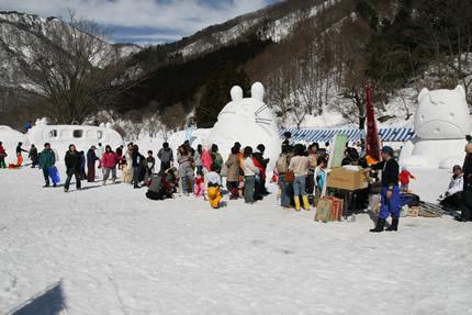 湯檜曽雪祭り