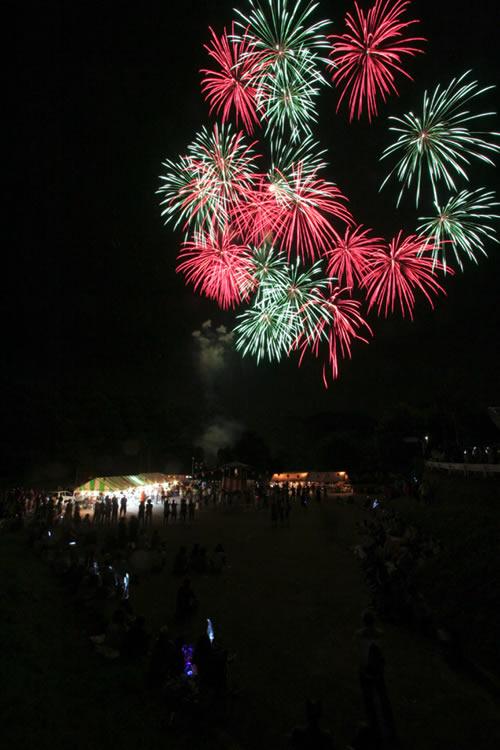 2009前夜祭花火