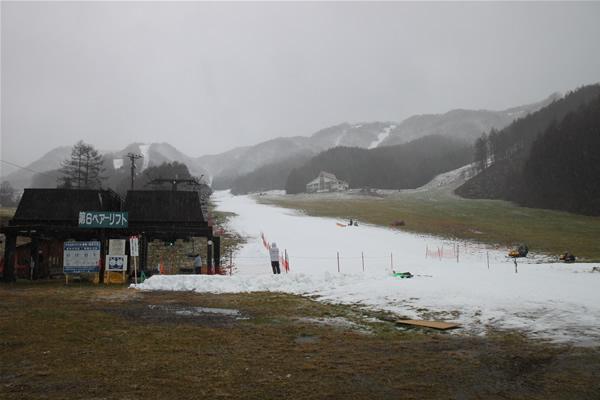 宝台樹スキー場オープン当初